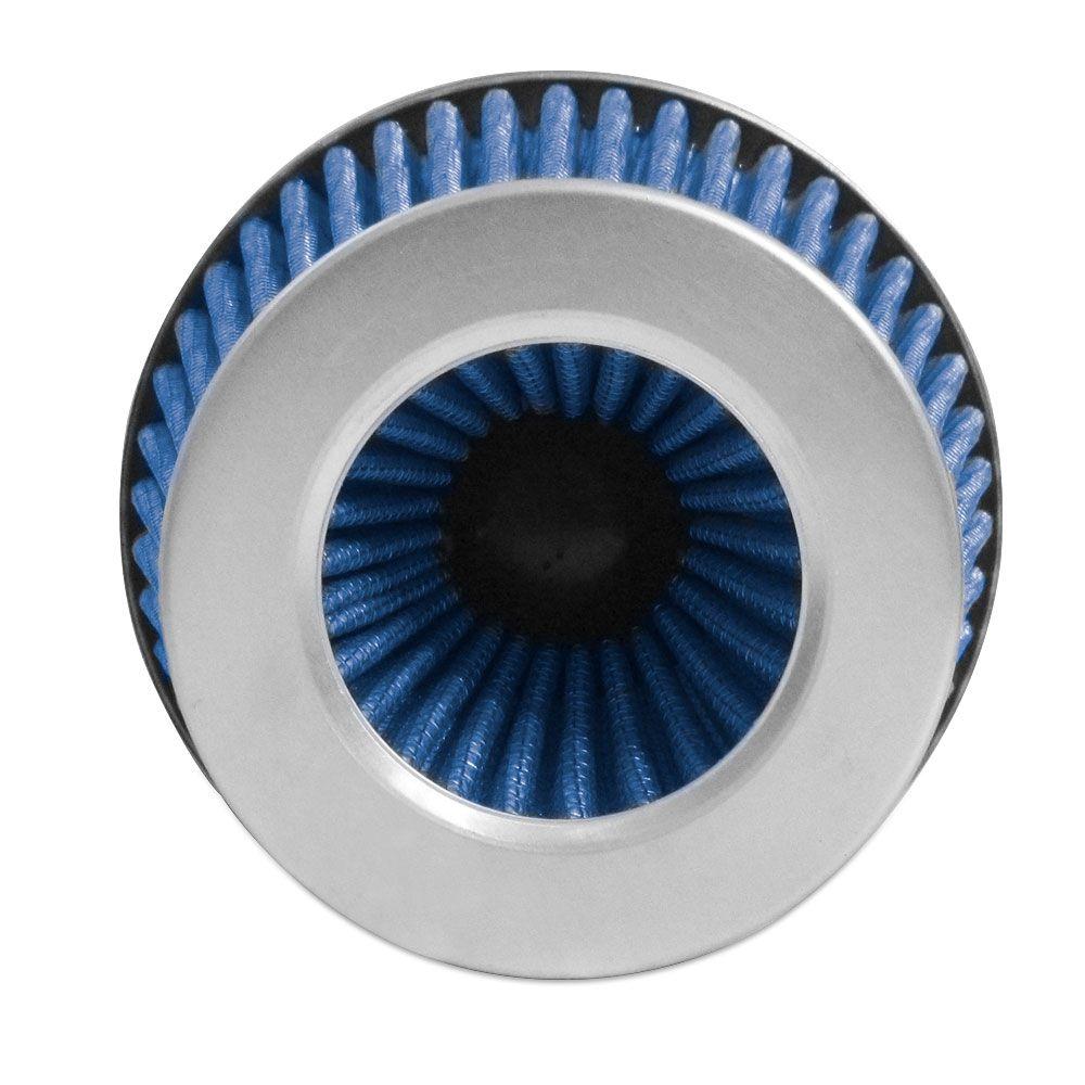 Filtro de Ar Esportivo Rs Air Filter Duplo Fluxo Multi 60mm Azul  - AutoParts Online