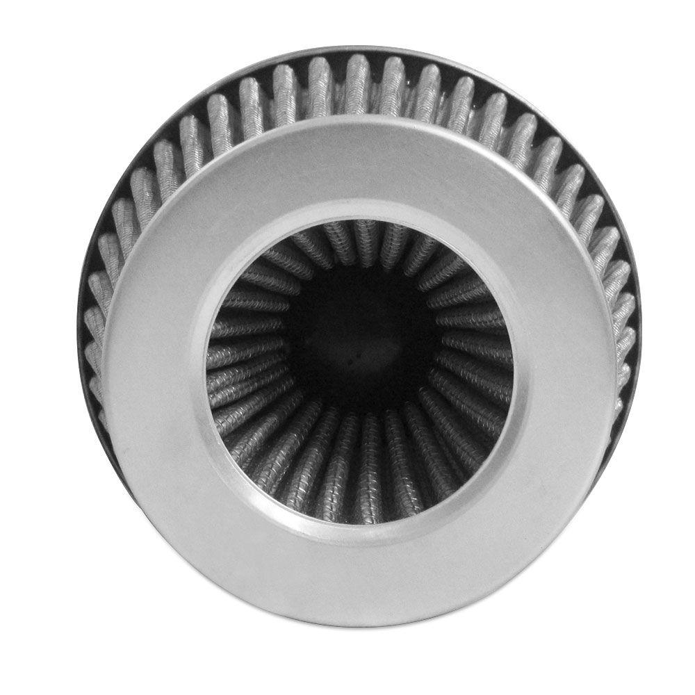Filtro de Ar Esportivo Rs Air Filter Duplo Fluxo Multi 60mm Branco  - AutoParts Online