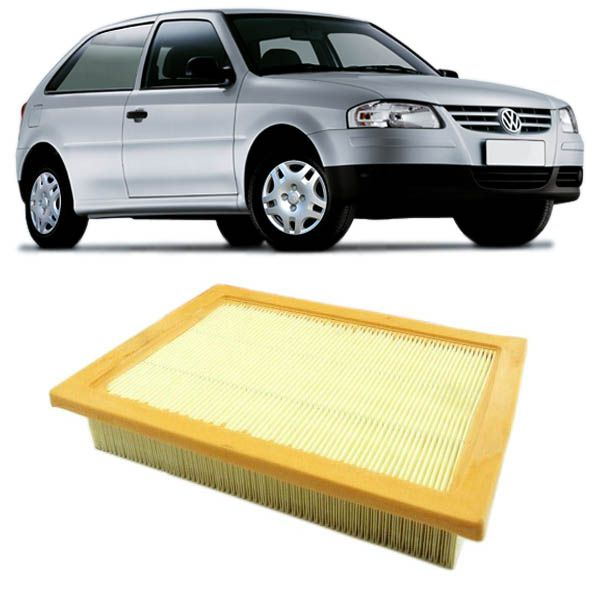 Filtro de Ar VW Gol 1.6 03/..., Gol/Parati Power 1.0 MI 16v 08/01, Polo 1.6 8v 03/02, Golf 1.6 8v 01/..., Fox 1.6 03/...  - AutoParts Online