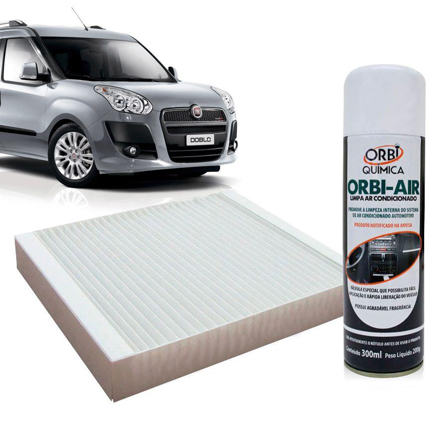 Filtro do Ar Condicionado Cabine Fiat Doblo 2001 em diante com Limpa Ar Condicionado  - AutoParts Online