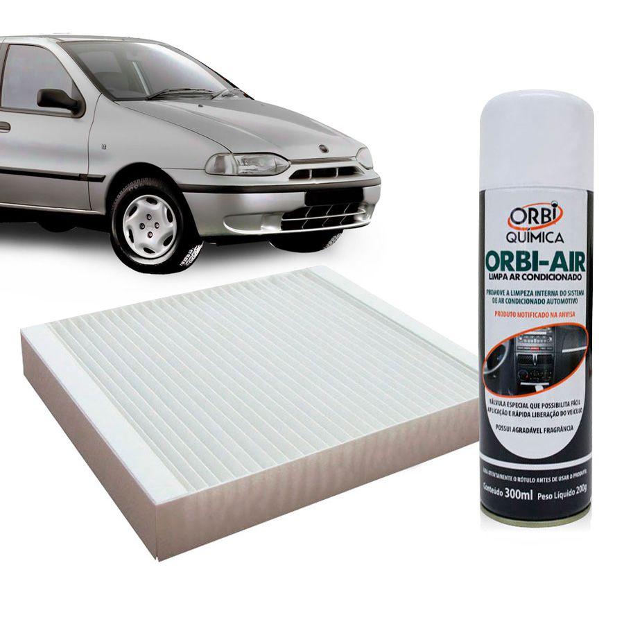 Filtro do Ar Condicionado Cabine Fiat Palio 1996 a 1998 com Limpa Ar Condicionado  - AutoParts Online