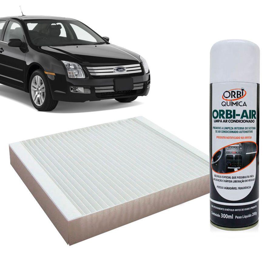 Filtro do Ar Condicionado Cabine Ford Fusion 2009 em diante com Limpa Ar Condicionado  - AutoParts Online
