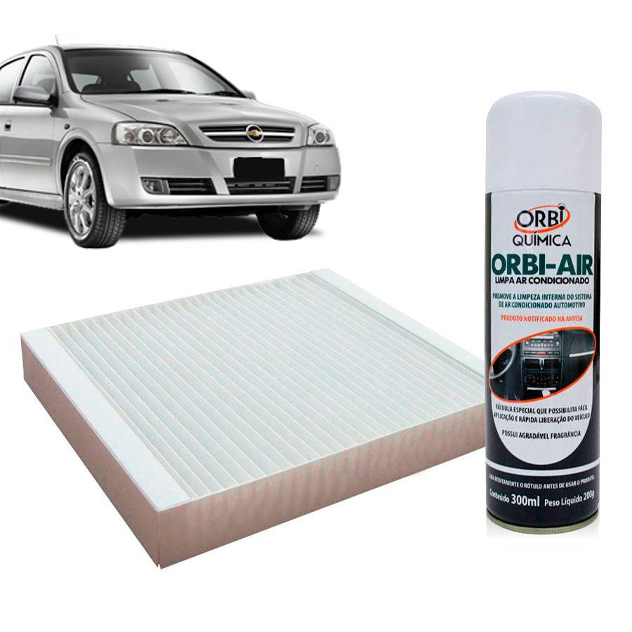 Filtro do Ar Condicionado Cabine GM Astra Nacional 1999 em diante com Limpa Ar Condicionado  - AutoParts Online