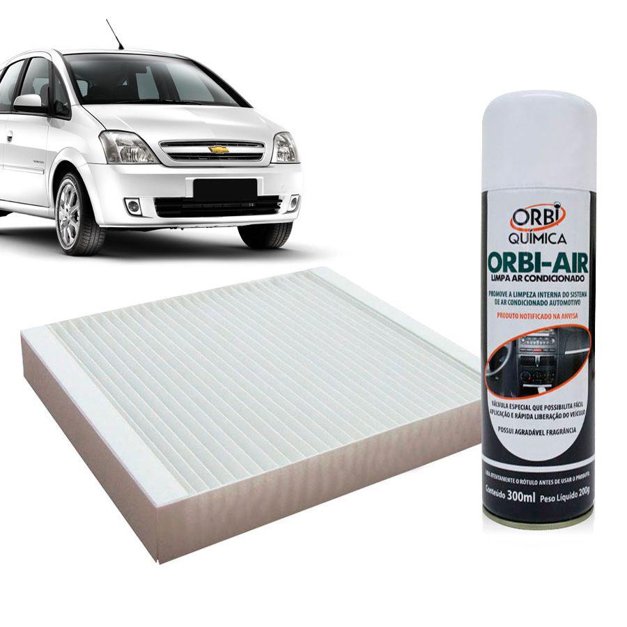 Filtro do Ar Condicionado Cabine GM Meriva 2002 em diante com Limpa Ar Condicionado  - AutoParts Online