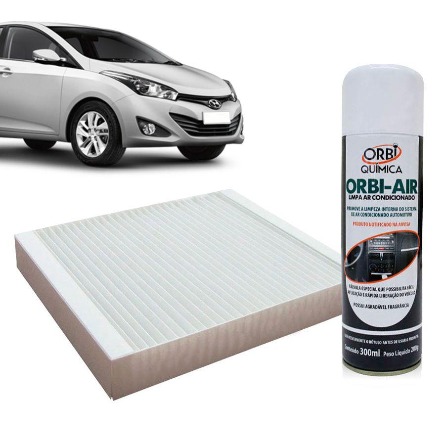 Filtro do Ar Condicionado Cabine Hyundai HB20 todos com Limpa Ar Condicionado  - AutoParts Online