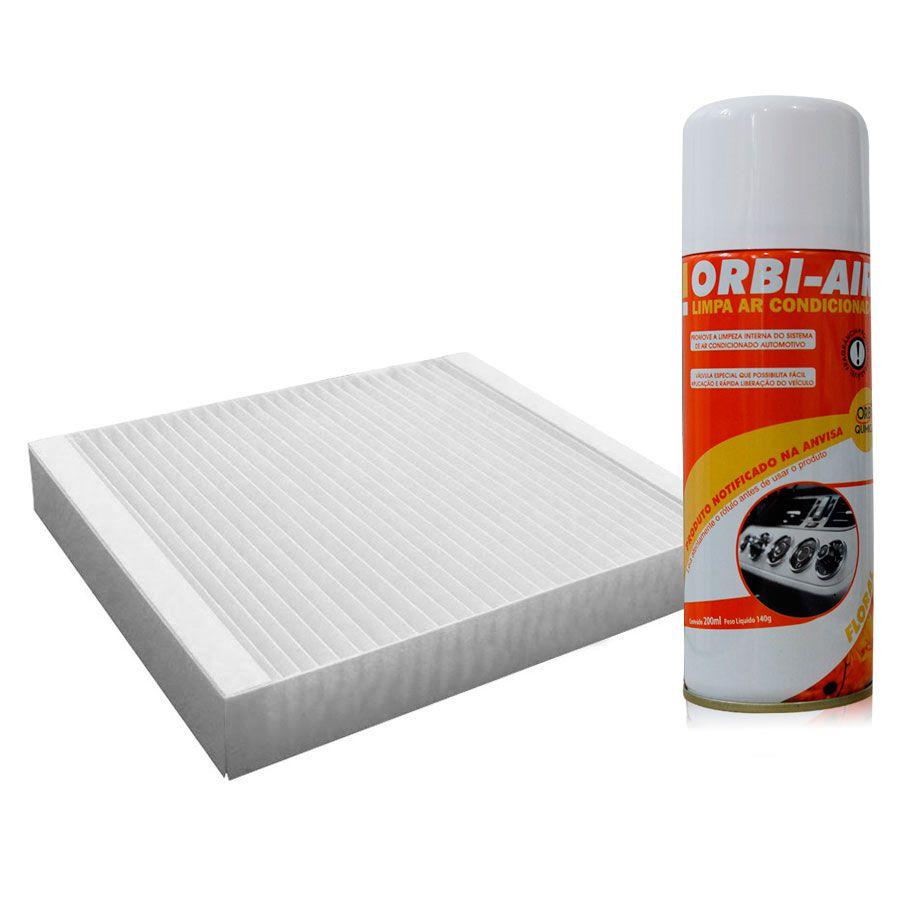 Filtro do Ar Condicionado Cabine Kia Soul 2009 em diante com Limpa Ar Condicionado  - AutoParts Online