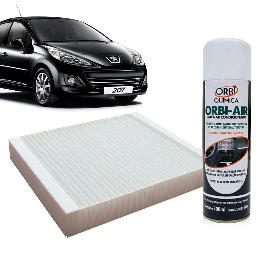 Filtro do Ar Condicionado Cabine Peugeot 206 207 Hoggar todos com Limpa Ar Condicionado  - AutoParts Online
