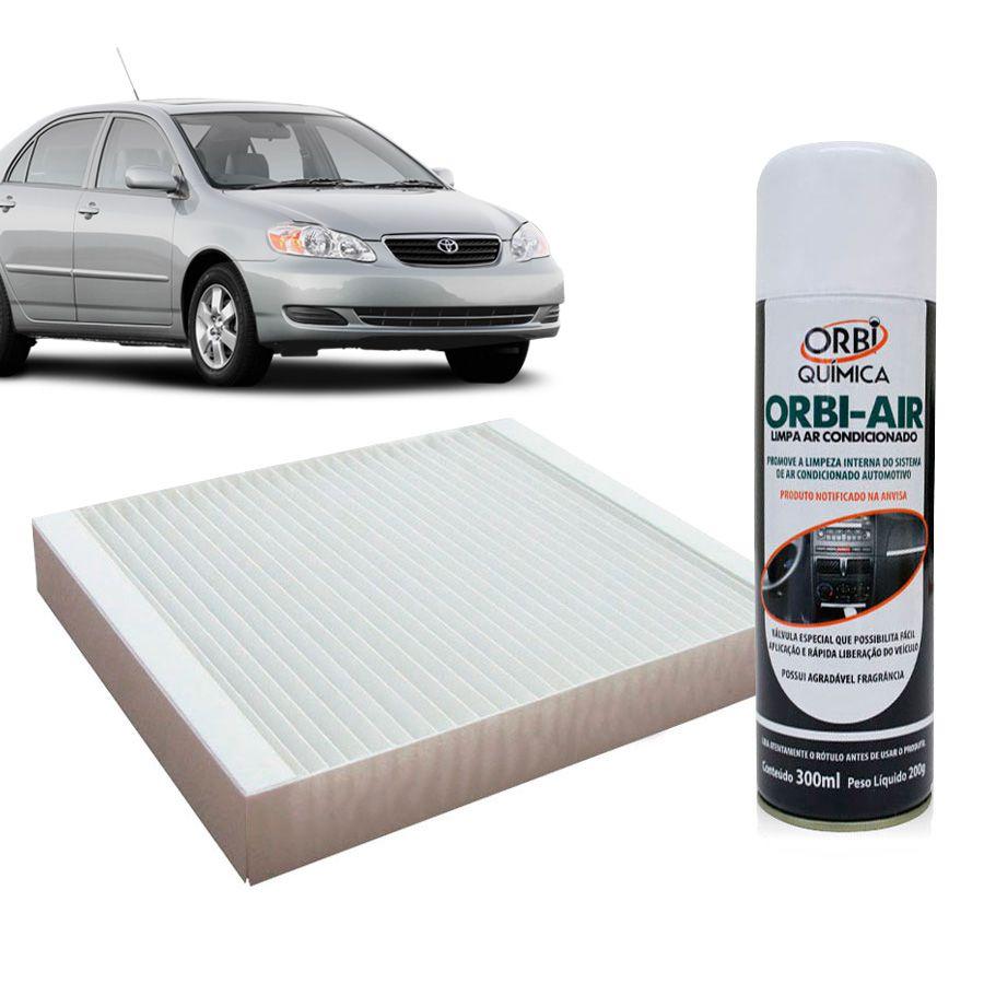 Filtro do Ar Condicionado Cabine Toyota Corolla Filder Prado RAV4 2000 em diante com Limpa Ar Condicionado  - AutoParts Online