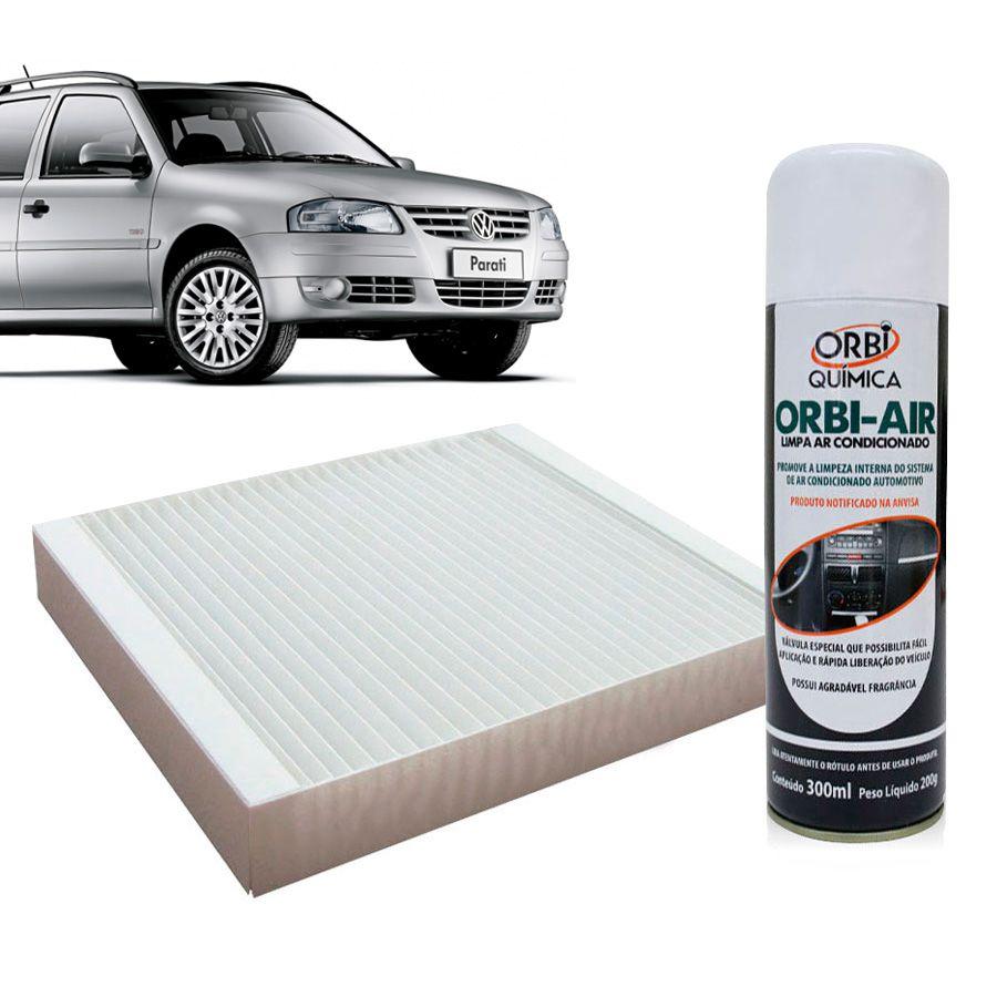 Filtro do Ar Condicionado Cabine Vw Gol Parati Saveiro G2 G3 G4 1995 em diante com Limpa Ar Condicionado  - AutoParts Online