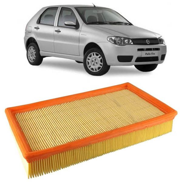 Filtro do Ar do Motor Fiat Idea 2005 em diante Flex Palio 1996 a 2005 Siena 1997 a 2006 Strada 1998 a 2004  - AutoParts Online