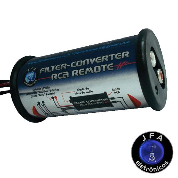 Filtro e Conversor RCA JFA  - AutoParts Online