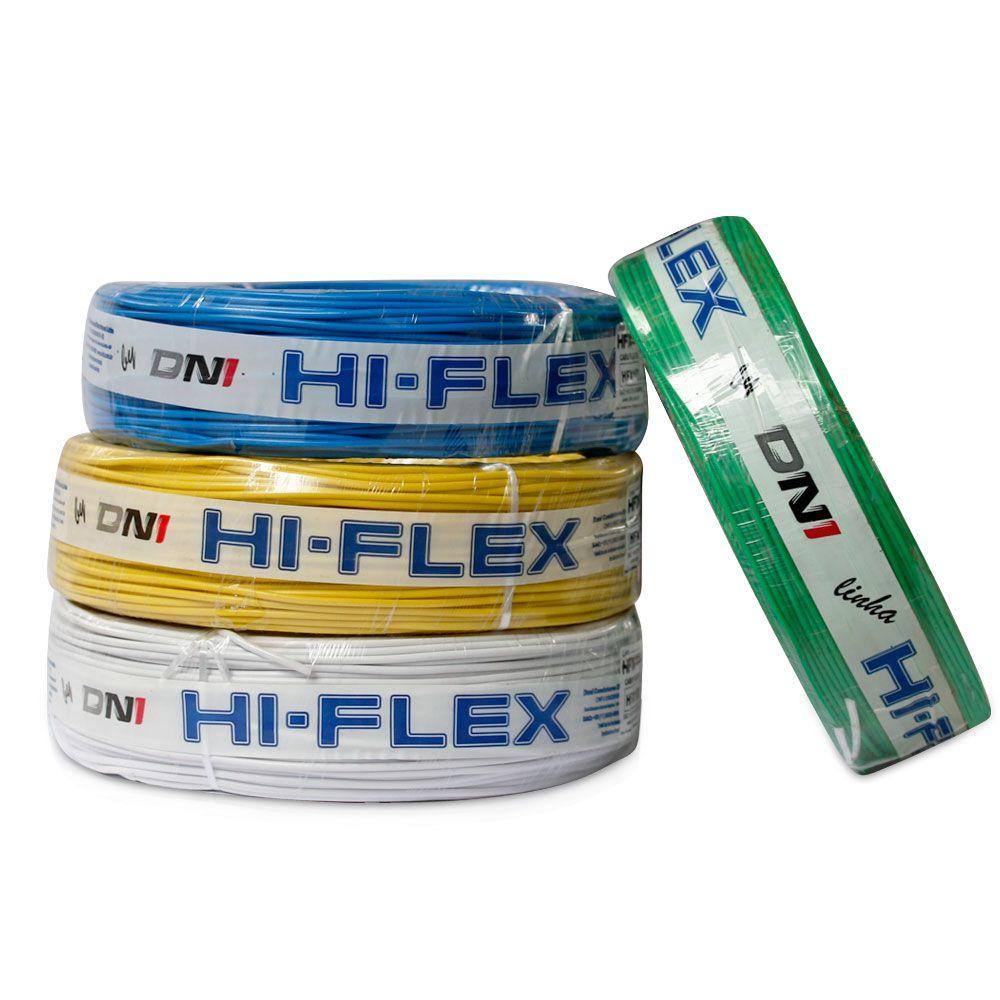 Fio Flexível para Instalação Automotiva Dni Hi-Flex 2,50 mm 100 Metros Preto  - AutoParts Online