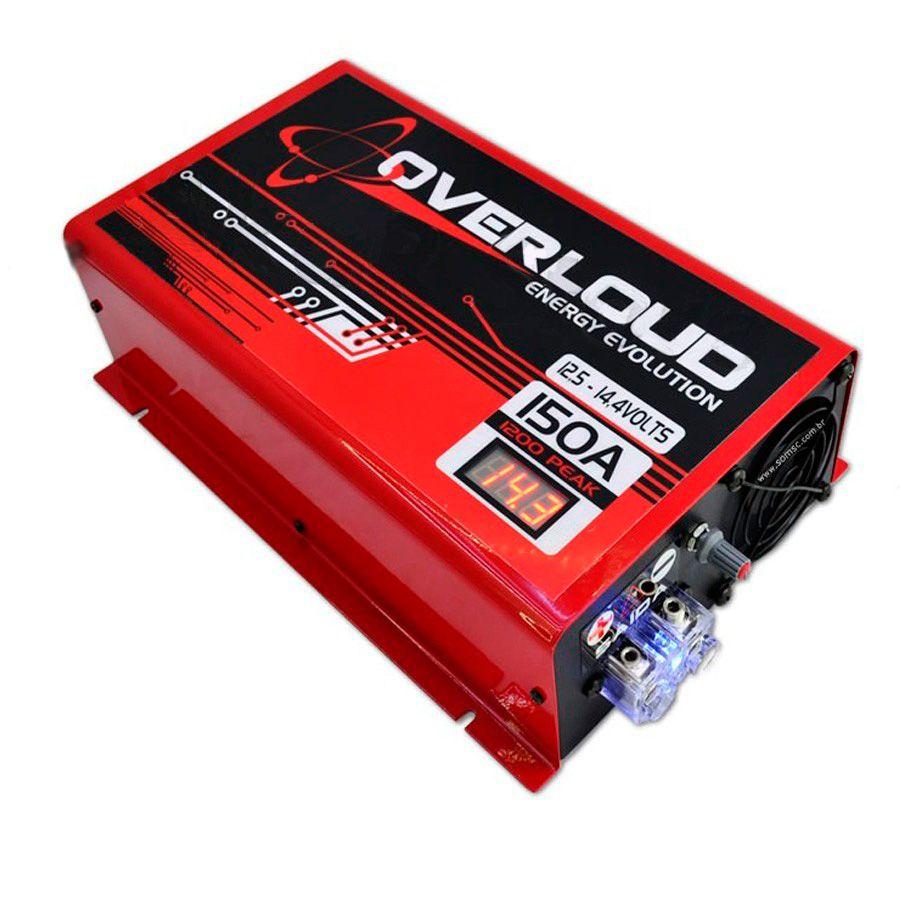 Fonte Carregador Bateria 150A Bivolt  - AutoParts Online