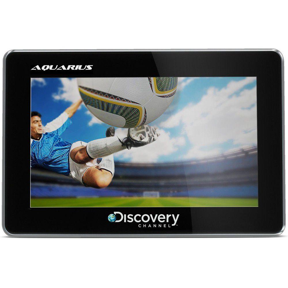 GPS Automotivo Aquarius Discovery Tela 4.3 Touch Screen com TV Digital e Câmera de Ré  - AutoParts Online