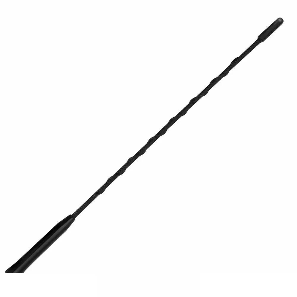 Haste para antena teto antico espiral 35cm rosca 5mm preta HS301  - AutoParts Online