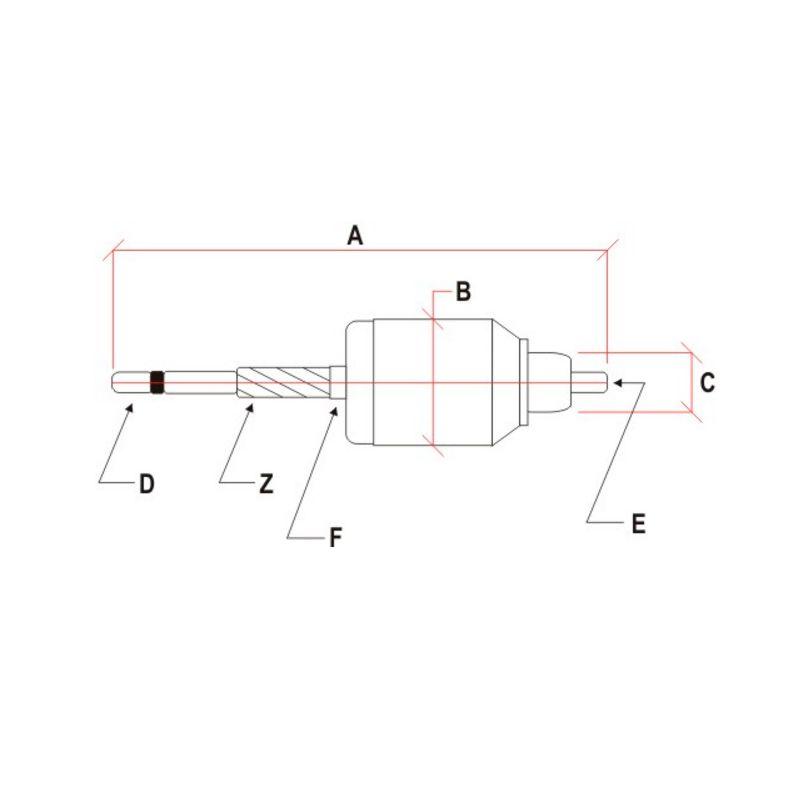 Induzido Motor de Partida Voltex Fiat Palio 1.0 1.5 Siena 1.0 Strada 1.5 Gm Corsa  - AutoParts Online
