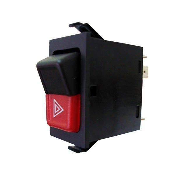 Interruptor de Luz de Emergência VW Gol 1987/1994, Santana até 1992  - AutoParts Online