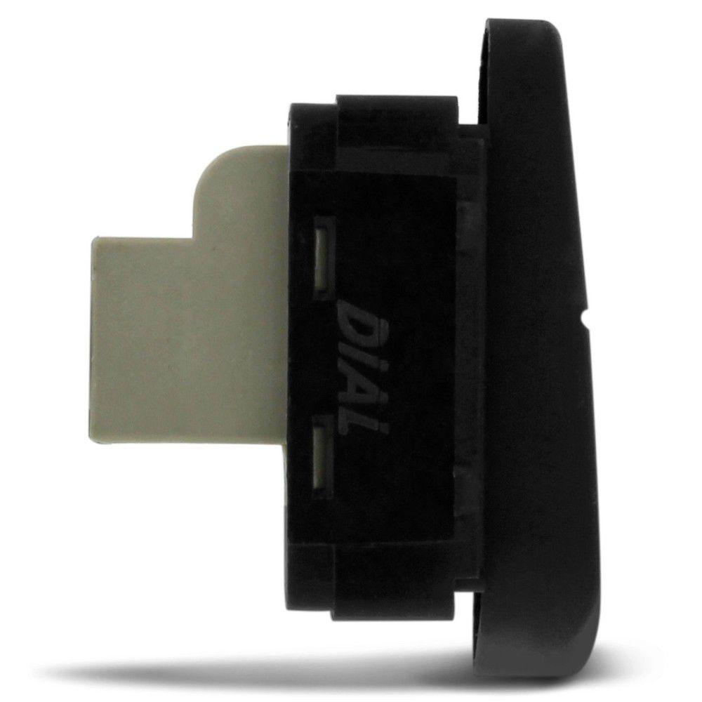 Interruptor Simples do Vidro Elétrico para Vw Fox Polo 2003 a 2005 Lado Direito  - AutoParts Online