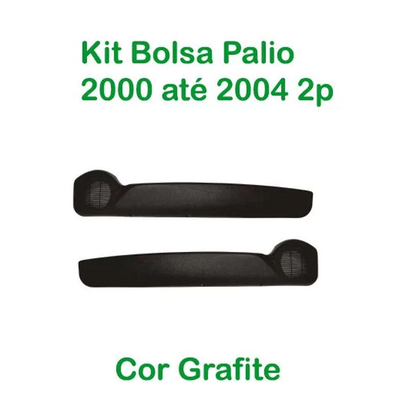 Kit Bolsa de Porta Palio 2000 até 2004 2 Portas Cor Grafite  - AutoParts Online
