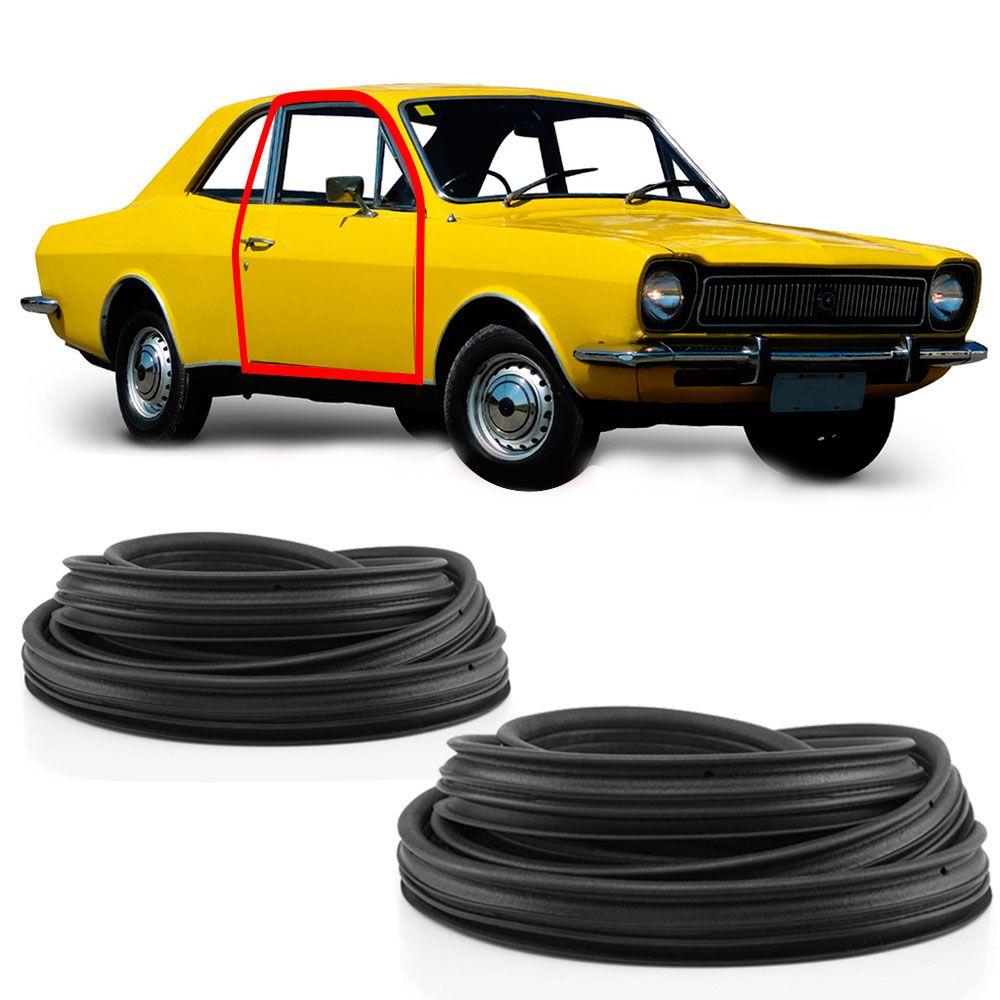 Kit Borracha da Porta Ford Corcel Belina 2 Portas  - AutoParts Online