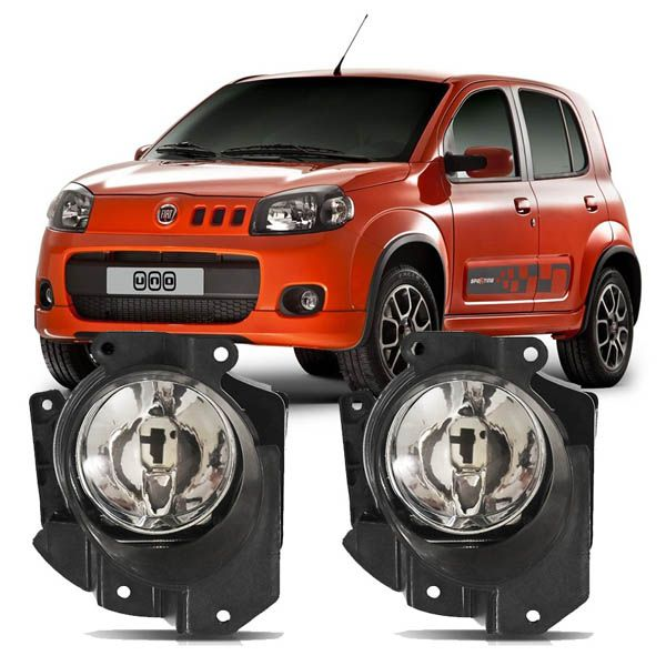 Kit Farol de Milha Fiat Uno 2011 em diante  - AutoParts Online
