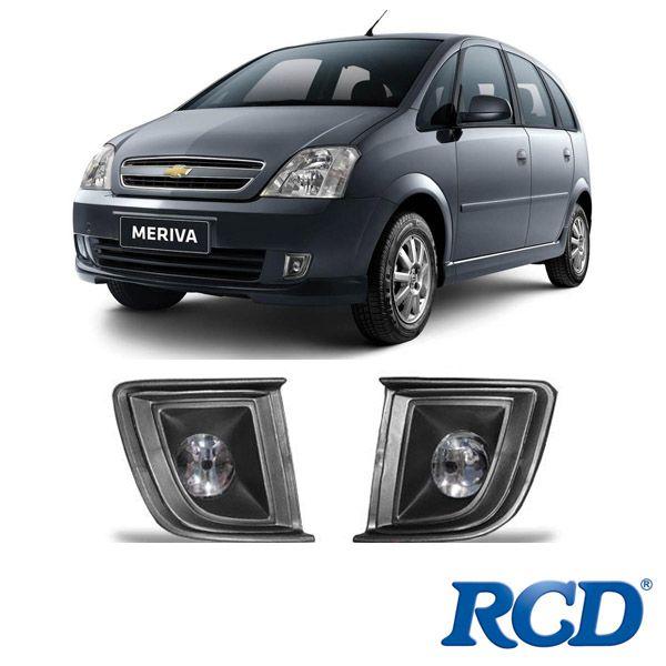 Kit Farol de Milha RCD Meriva RC908 Paralelo  - AutoParts Online