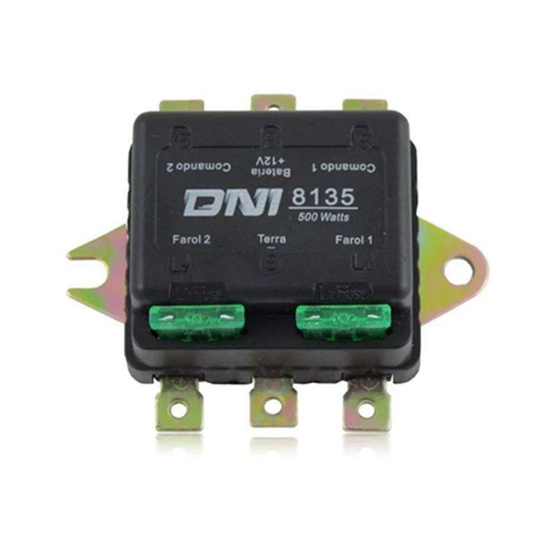 Kit Lâmpada Super Branca H1 100w 12V Hiper Iluminação Com Relé Duplo DNI  - AutoParts Online