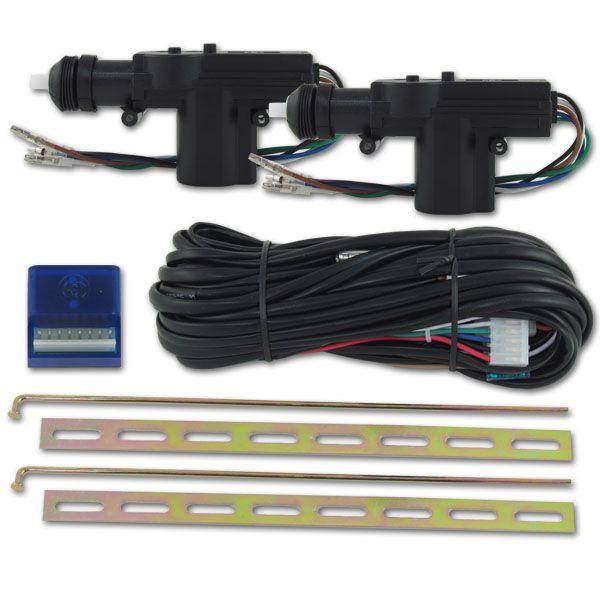 Kit Trava  Elétrica Universal 2 portas  - AutoParts Online