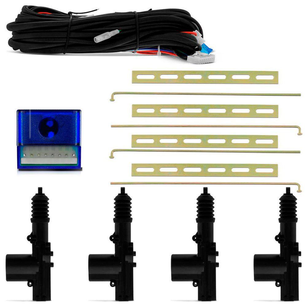 Kit Trava Elétrica Universal 4 Portas   - AutoParts Online