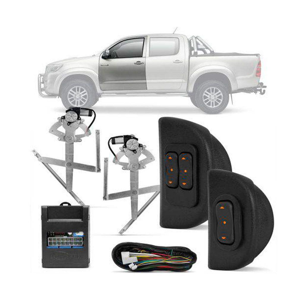 Kit Vidro Elétrico Dianteiro Sensorizado Toyota Hilux 4 portas 2005 a 2015  - AutoParts Online