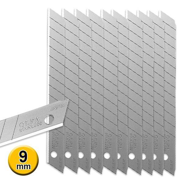 Lamina Estilete Silver Olfa Pro Pacote com 10 Pacotes  - AutoParts Online