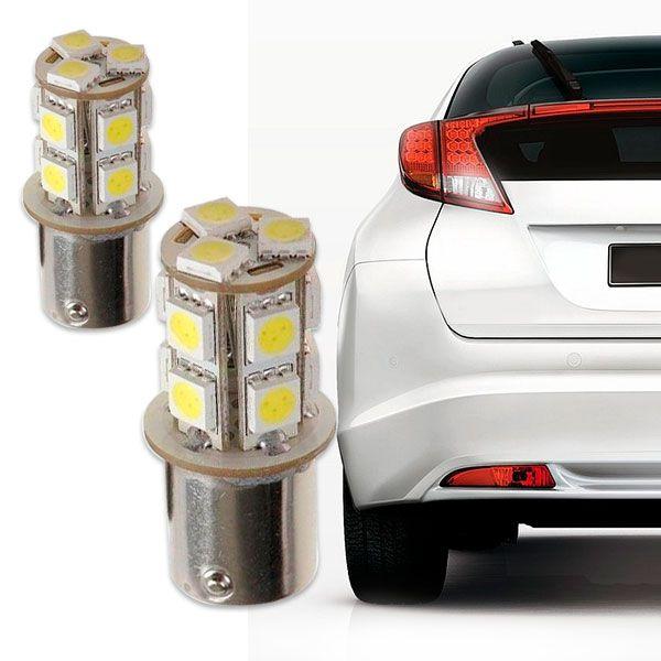 Lâmpada 1 Polo 13 Leds Smd Lanterna Traseira Par  - AutoParts Online