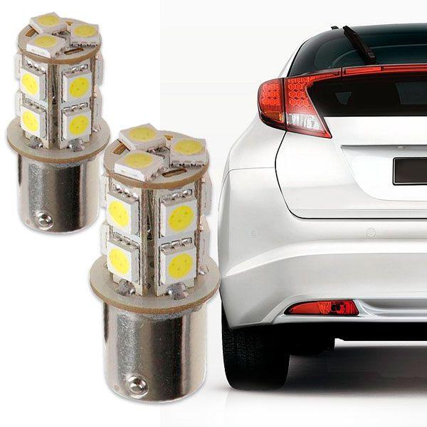 Lâmpada 2 Polos 13 Leds Smd Lanterna Traseira Par  - AutoParts Online