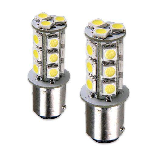 Lâmpada 2 Polos 18 LED Smd Lanterna Traseira e Luz de Freio Par  - AutoParts Online