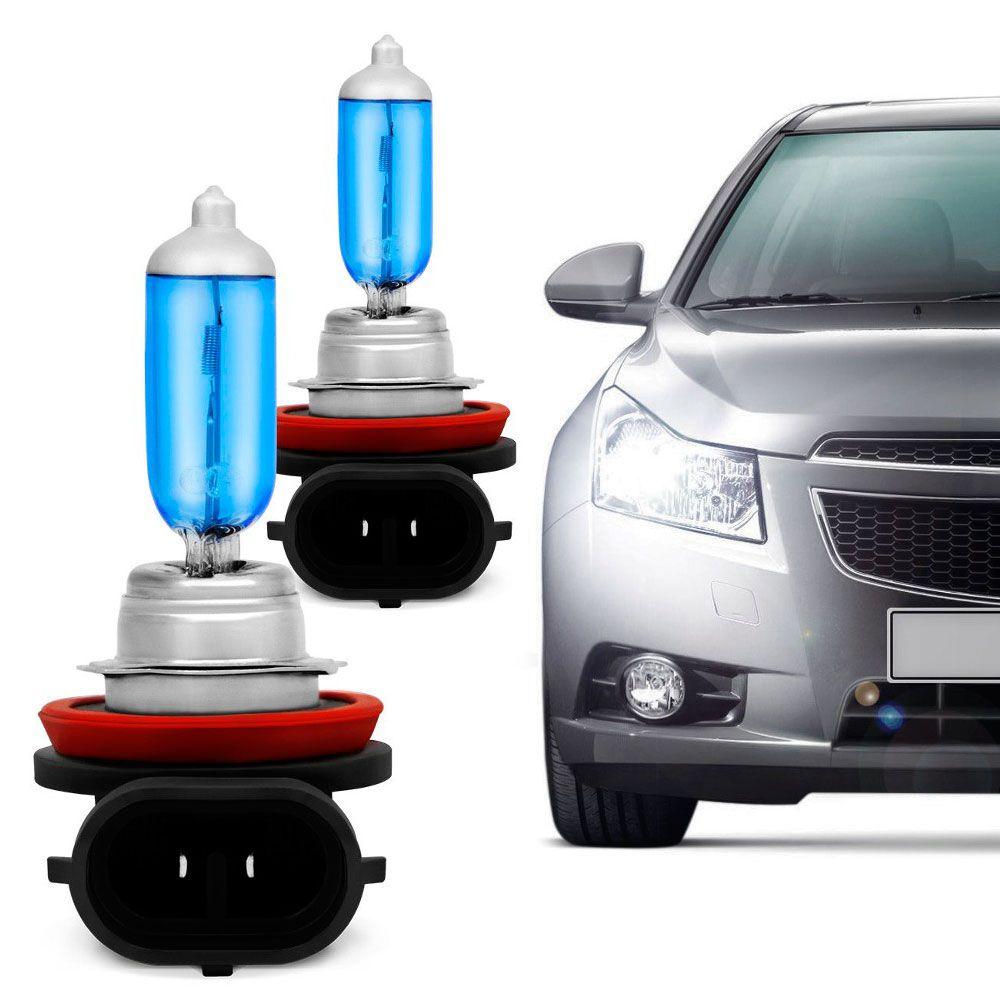 Lâmpada Certa H11 12V 4200K 55W Super Branca Par  - AutoParts Online