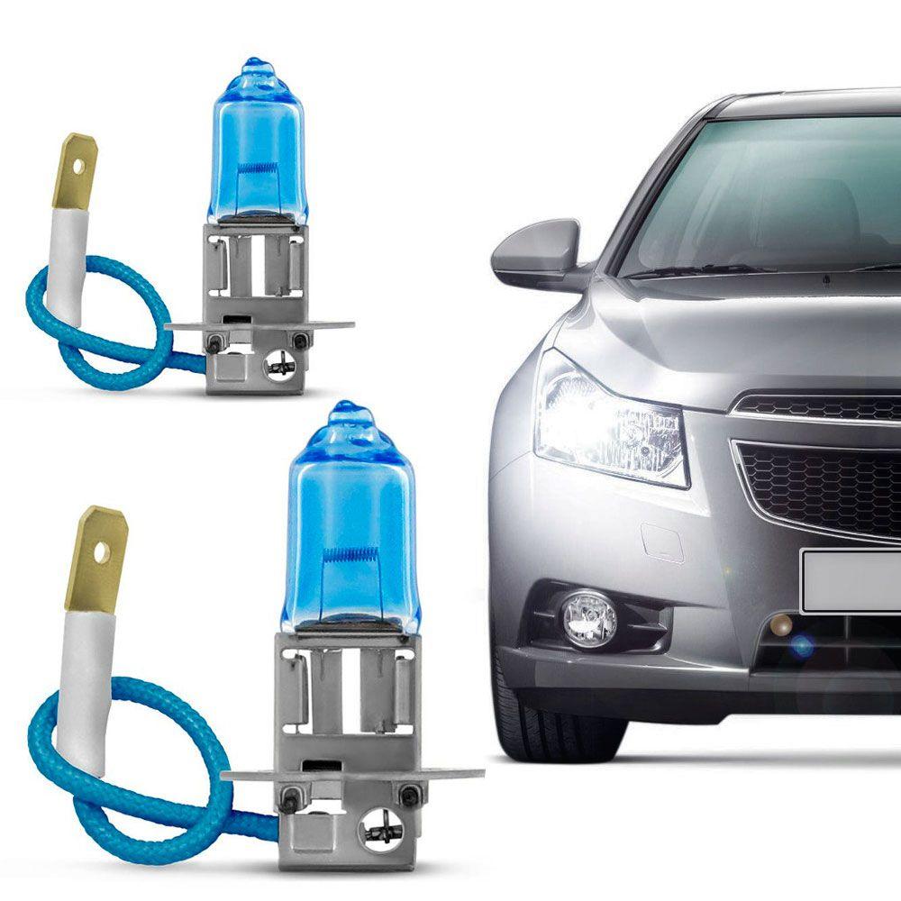 Lâmpada Certa H3 12V 4200K 55W Super Branca Par  - AutoParts Online