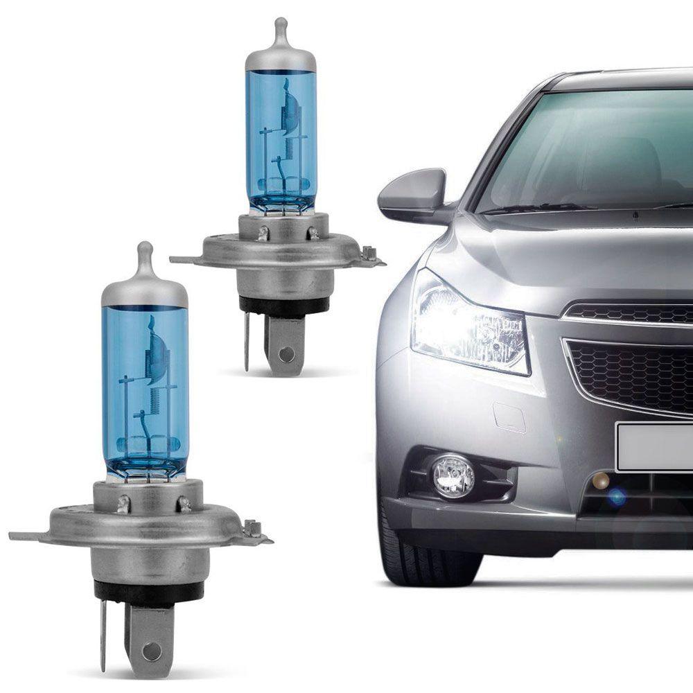 Lâmpada Certa H4 12V 4200K 60 55W Super Branca Par  - AutoParts Online