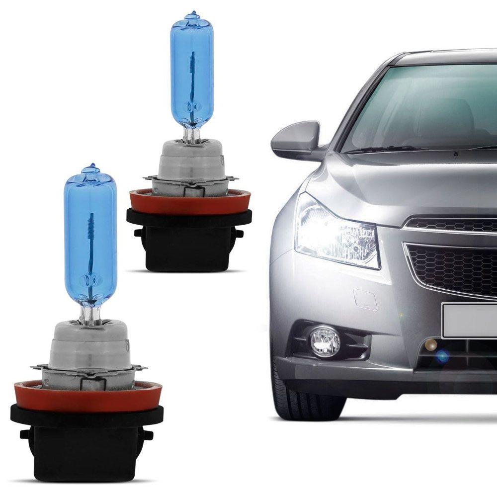Lâmpada Certa H9 12V 4200K 55W Super Branca Par  - AutoParts Online