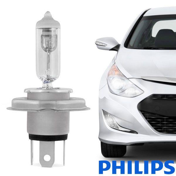 Lâmpada H4 Philips 12V 60/55W P43t-38 unidade  - AutoParts Online
