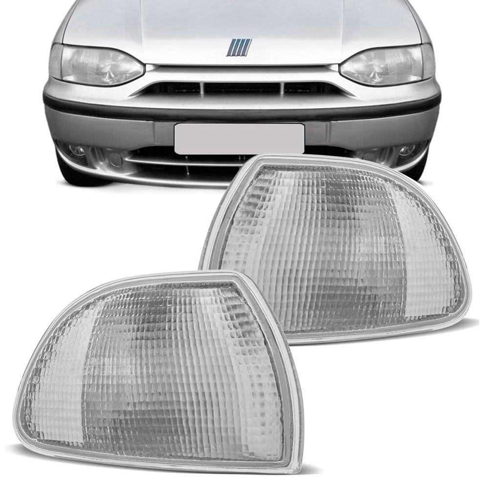 Lanterna Dianteira Pisca Fiat Palio Siena 1996 a 2000 Cristal Lado Direito 96110  - AutoParts Online