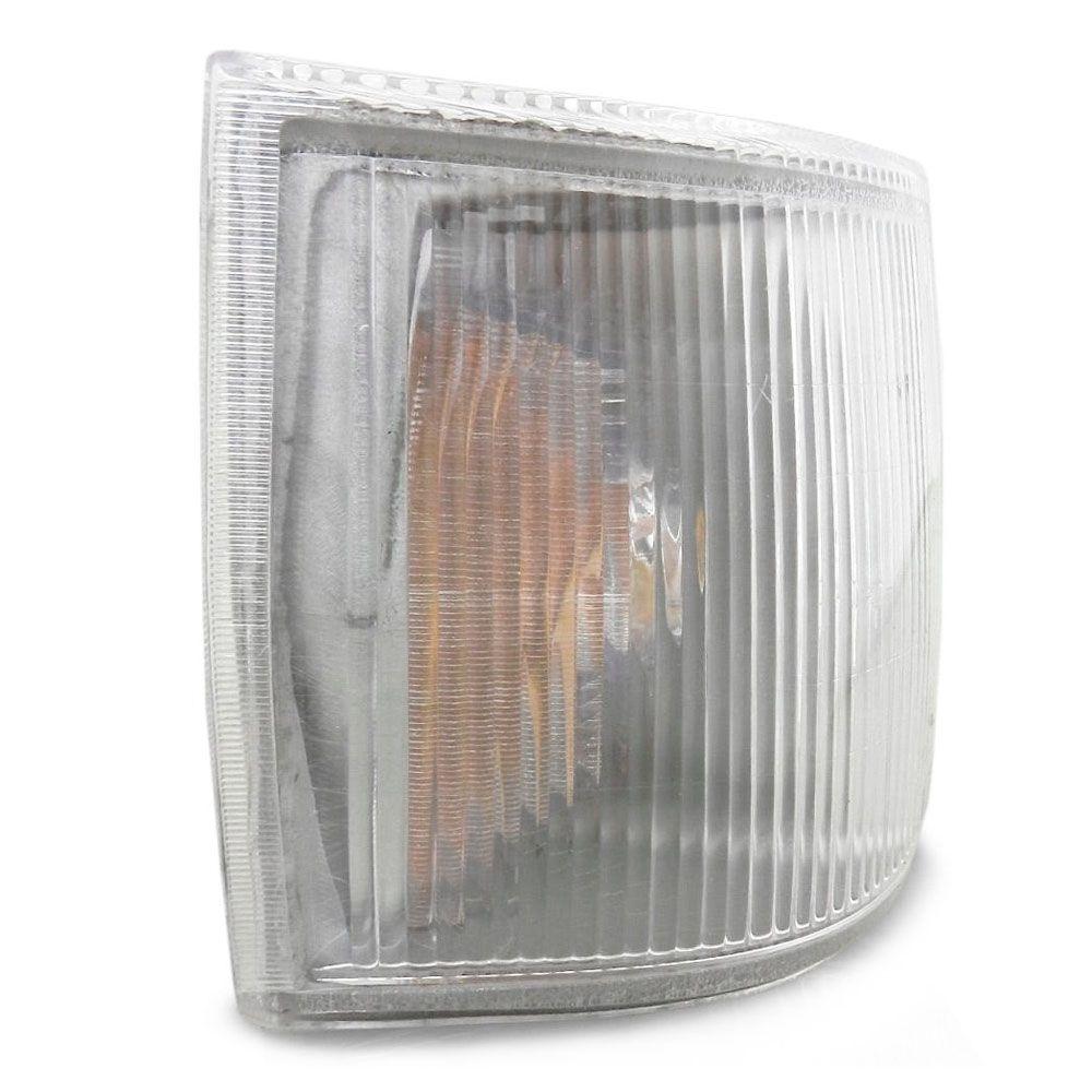 Lanterna Dianteira Pisca Fiat Uno Prêmio Fiorino 1991 a 2002 Cristal Lado Esquerdo 90809  - AutoParts Online