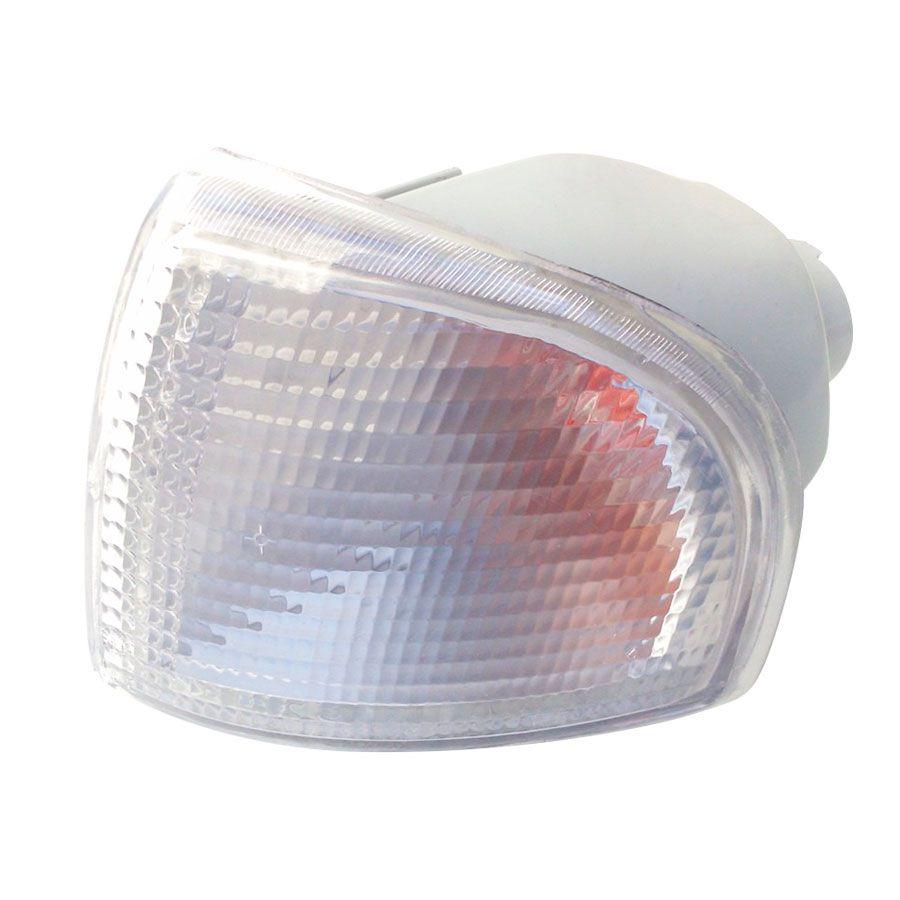 Lanterna Dianteira Pisca Vw Gol Parati Saveiro 1995 a 1999 Cristal Lado Esquerdo 91127  - AutoParts Online