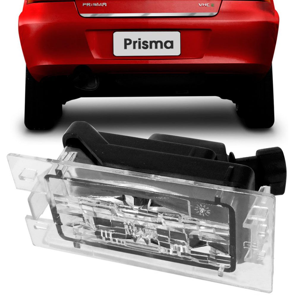 Lanterna Luz de Placa Gm Celta 2001 a 2006 Prisma Todos DP7377  - AutoParts Online