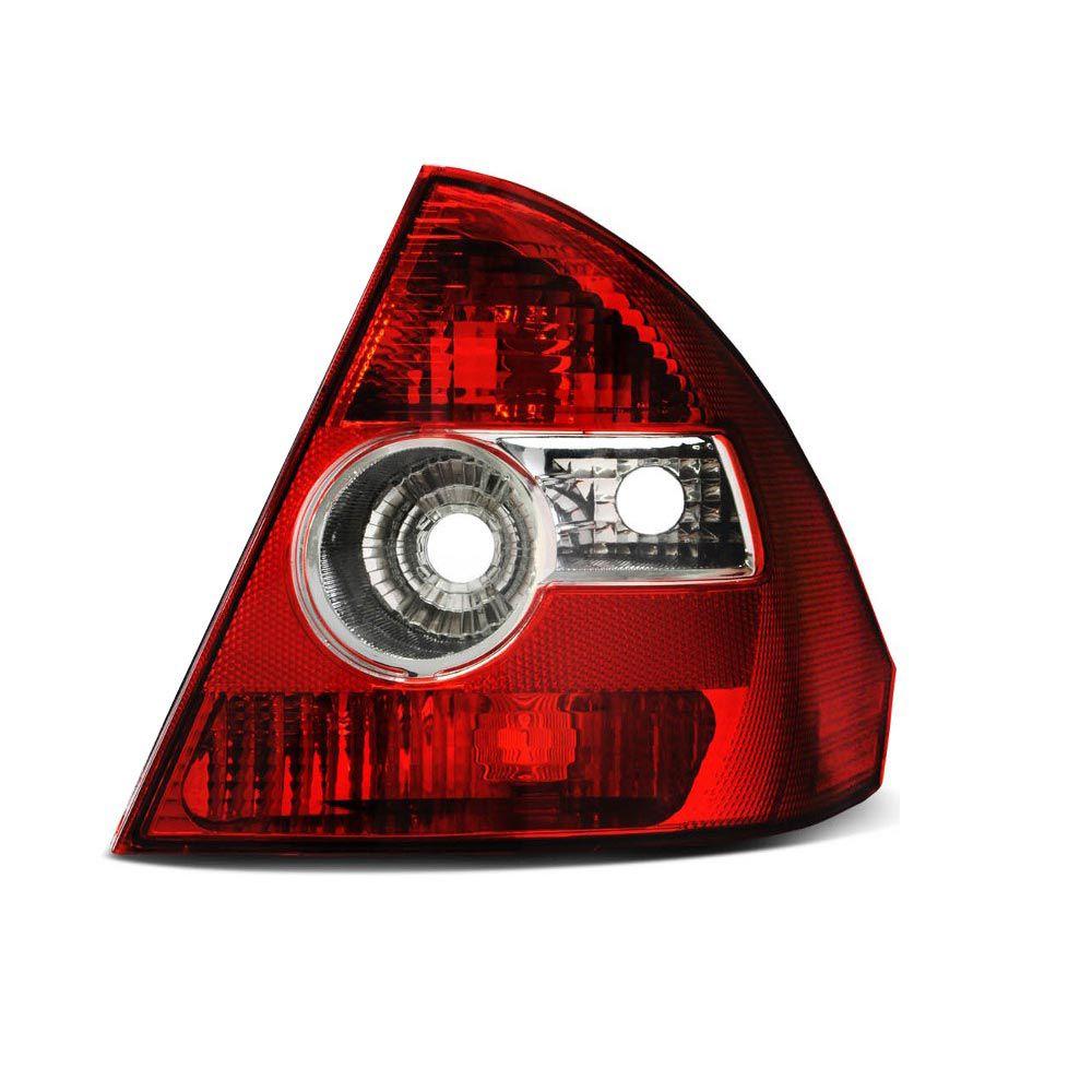 Lanterna Traseira Bicolor Ford Fiesta Sedan 2005 a 2010 Lado Direito  - AutoParts Online