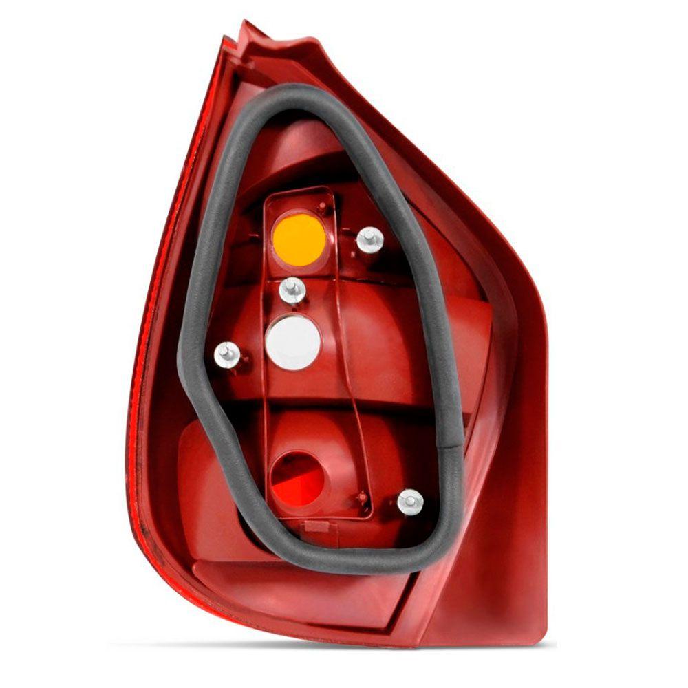 Lanterna Traseira Fiat Palio 2001 a 2003 Fire Tricolor Lado Direito 35164  - AutoParts Online