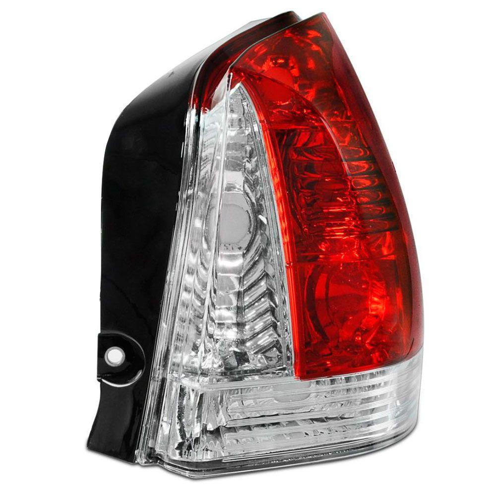 Lanterna Traseira Fiat Palio 2007 a 2011 Pisca Cristal Lado Direito 35245  - AutoParts Online
