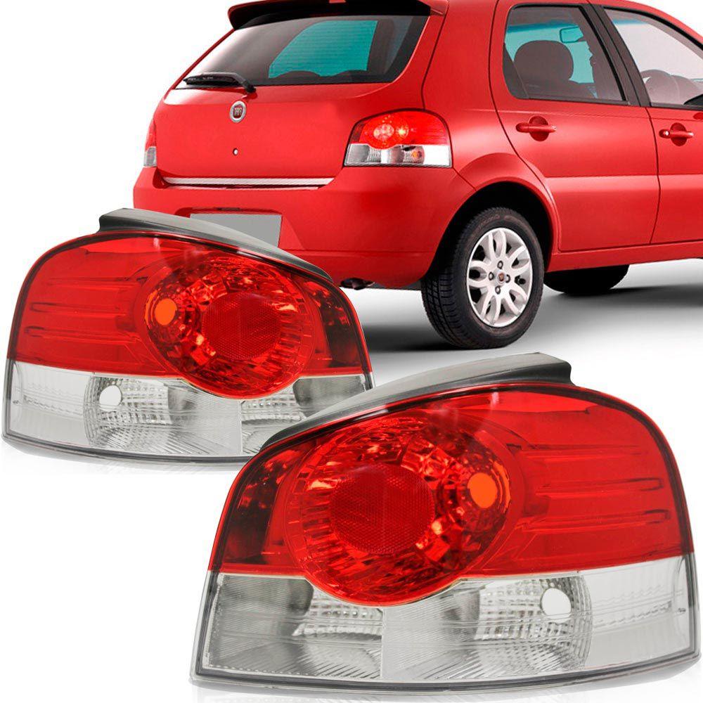 Lanterna Traseira Fiat Palio 2008 a 2009 Bicolor Lado Direito  - AutoParts Online