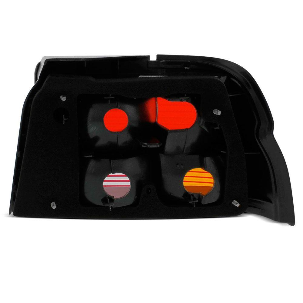 Lanterna Traseira Ford Escort Zetec 1997 a 2003 Tricolor Lado Esquerdo 1070E  - AutoParts Online