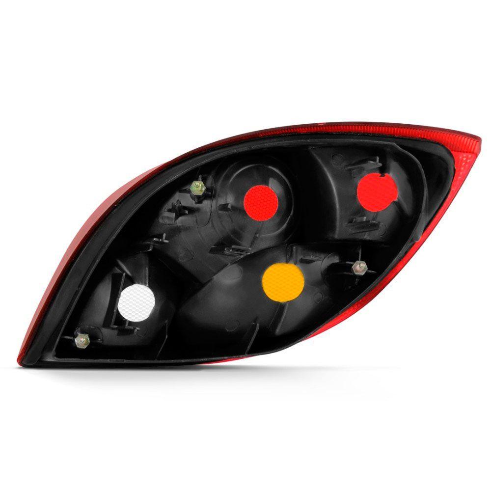 Lanterna Traseira Ford ka 1997 a 2000 Tricolor Ré Cristal Lado Esquerdo 97001  - AutoParts Online