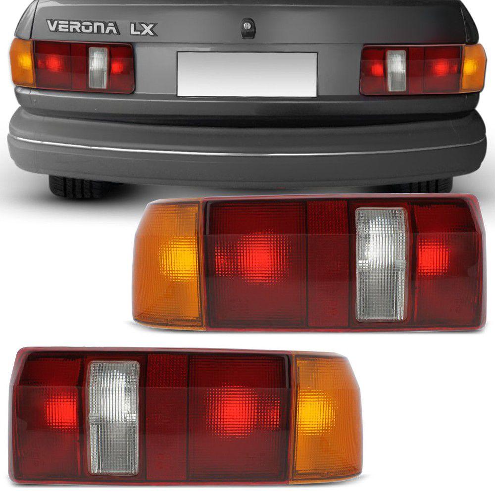 Lanterna Traseira Ford Verona 1.6 1.8 2.0 1990 a 1992 Tricolor Lado Direito  - AutoParts Online